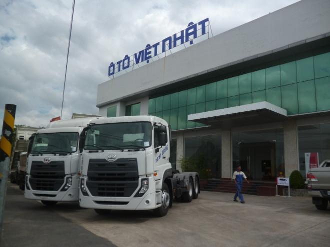Showroom xe tải UD Việt Nhật