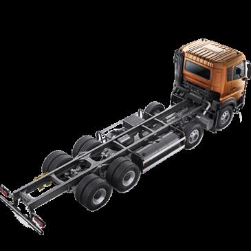 XE TẢI QUESTER Xe tải UD Quester 8×4, 370Hp